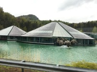 Drove by the Red Bull HQ on our way to Mondsee