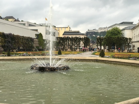 Fountain - Mirabell Gardens