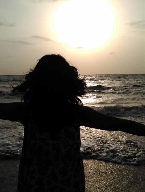 goa water beach baby freedom