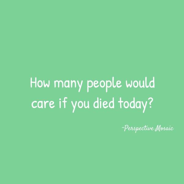 death people life