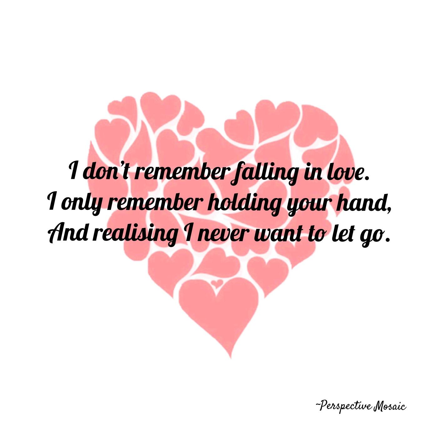 love heart forever hand