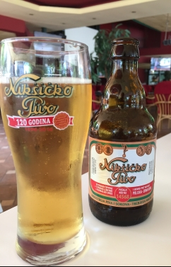 perspective mosaic Montenegro budva beer