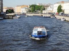 cannal st Petersburg Russia