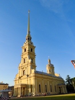 peter and paul cathedral fortress St Petersburg Russia